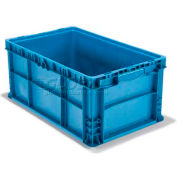 Straight Wall Container Solid - Stackable NRSO2415-11 Gray - 24 x 15 x 11