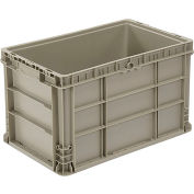 Straight Wall Container Solid NRSO2415-14 Gray - 24 x 15 x 14