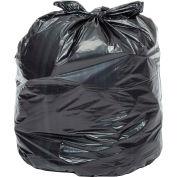 Global™ Heavy Duty Black Trash Bags - 33 Gallon, 1.4 Mil, 100/Case