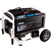 Pulsar PG7500, 6000 Watts, Portable Generator, Gasoline, Electric/Recoil Start, 120/240V