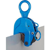 Locking Vertical Plate Clamp Lifting Attachment 2000 Lb. Capacity