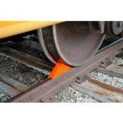 Vestil Magnetic Railroad Rail Car Wheel Chock RC-WC