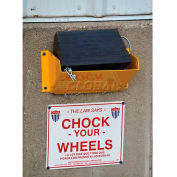 "Vestil Wheel Chock Holder WC-H 12-7/8""W x 7-7/16""D x 6-7/16""H"