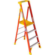Werner 4' Type 1A Fiberglass Podium Ladder - PD6204