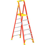 Werner 6' Type 1A Fiberglass Podium Ladder - PD6206
