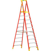 Werner 10' Type 1A Fiberglass Podium Ladder - PD6210