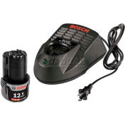 BOSCH® SKC120-102 12V Starter Kit w/ Battery & Charger