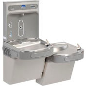 Elkay LZSTL8WSLK Water Refilling Station, Bi-Level Reversible, W/Filter, Light Gray