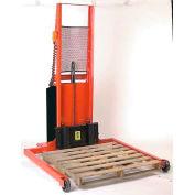 """Wesco® Battery Powered Lift Truck 261034 1000 Lb. 56""""H Adj. Strd. 40"""" Forks"""
