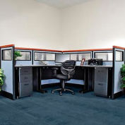 Pre-Configured Single Deluxe Cubicle with Windows