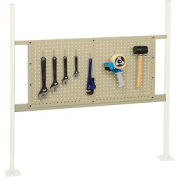 """Mounting Kit with 36""""W Pegboard for 48""""W Workbench -Tan"""