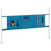 "Mounting Kit with 18""W and 36""W Pegboards for 72""W Workbench - Blue"