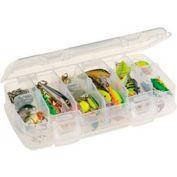 """Plano StowAway® 345046 - 6 Fixed Compartment Box, 8-1/4""""L x 4-1/4""""W x 1-3/8""""H, Clear - Pkg Qty 6"""