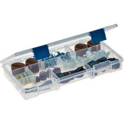 "Plano ProLatch™ StowAway® 5-9 Adjustable Compartment Box, 9-1/8""L x 5""W x 1-1/4""H, Clear - Pkg Qty 2"