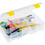 """Plano ProLatch™ StowAway® 4-9 Adjustable Compartment Box, 11""""L x 7-1/4""""W x 2-3/4""""H,Clear - Pkg Qty 2"""