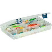 "Plano ProLatch™ StowAway® 4-24 Adjustable Compartment Box, 14""W x 9""D x 1-7/8""H, Clear - Pkg Qty 2"
