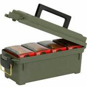 "Plano Molding 1212-02 Water Resistant Ammo Storage Box, 13-3/4""L x 5-5/8""W x 5-9/16""H, Green"