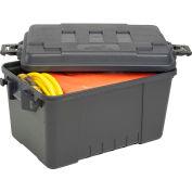 "Plano Molding 161900 56 Quart Storage Trunk, 24""L x 15""W x 13""H, Black"