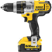 "DeWALT DCD985M2 20V Lithium-Ion Premium 3-Speed 1/2"" Hammer Drill Kit"