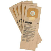 DeWALT® DWV9401 HEPA Dust Bag 5-Pack for DeWALT® Dust Extactors