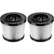 DeWALT® DWV9320 HEPA Filter 2-Pack for DeWALT® DWV012 Wet/Dry Vacuum
