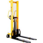 Vestil Hand Pump Stacker VHPS-2000-FF 2000 Lb. Cap. Fixed Forks & Legs
