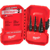 Milwaukee® 48-89-9221 Step Drill Bit Set