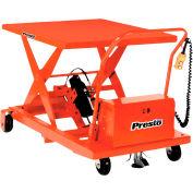PrestoLifts™ Portable Electric Scissor Lift XBP24-15 1500 Lb. Cap. 24x36