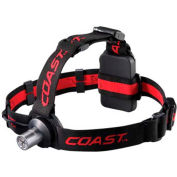 Coast™ TT7454CP HL3 LED Headlamp in Clam Pack - Black
