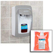 Global Industrial™ Hand Soap Starter Kit W/ FREE Dispenser - White/Gray
