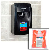 Global Industrial™ Hand Soap Starter Kit W/ Automatic Dispenser - Black