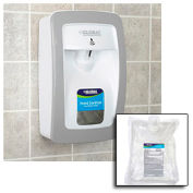 Global™ Hand Sanitizer Starter Kit W/ FREE Automatic Dispenser - White/Gray