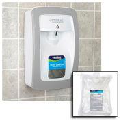 Global Industrial Hand Sanitizer Starter Kit W/ Automatic Dispenser White/Gray