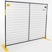 Perimeter Patrol™ Welded Steel Powder Coat Fence - 8 Panel Kit