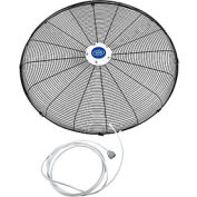 """Front Fan Grille With Misting Feature For 30"""" Pedestal and Wall Mounted Fan"""