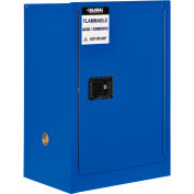 "Global Industrial™ Acid Corrosive Cabinet - 12 Gallon - Manual Close 23""W x 18""D x 35""H"