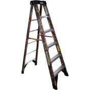 Werner 6' Fiberglass Camouflage Step Ladder 300 lb. Cap - 6206