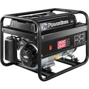 Briggs & Stratton® 030666, 2500 Watts, Portable Generator, Gasoline, Recoil Start, 120V