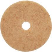"20"" CocoPad Coconut Fiber Burnishing Pad, Medium to High Freq. - 5 Per Case"