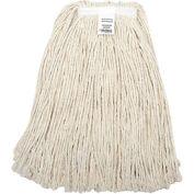Global™ 24 oz. Cotton Cut-End Mop Head, 4Ply, Narrow Band