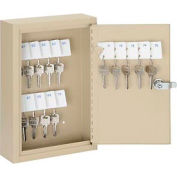 Global™ Key Cabinet - 30 Keys, Sand