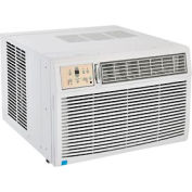 Window Air Conditioner With Heat, 25,000 BTU Cool, 16,000 BTU Heat, 230/208V