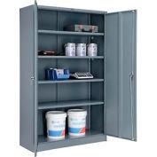 Global™ Storage Cabinet Assembled 48x18x78 Gray