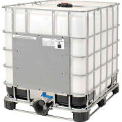 Mauser IBC Container 275 Gallon UN Approved with Plastic Pallet Base