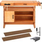 Sjobergs SJO-66737K-Scandi + 1425 Workbench Trestle & SJO-33457 Cabinet w/ SJO-33301 Scandi plus Kit