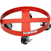 Modern Equipment MECO HDD-55PHL 55 Gallon Heavy Duty Drum Dolly Phenolic Casters