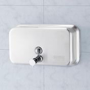 Global™ Stainless Steel Horizontal Liquid Soap Dispenser - 1000 ml