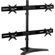 "Interion Ontop Quadruple Desktop Monitor Mount, Up to 24"", Stand"