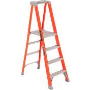 Louisville 5' Type 1A Fiberglass Pro Platform Step Ladder - FXP1705