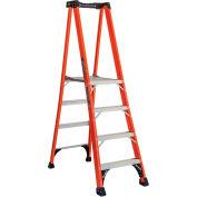 Louisville 4' Type 1AA Fiberglass Pro Platform Step Ladder - FXP1804HD